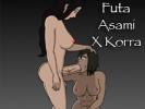 Futa Asami X Korra андроид