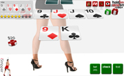 Strip Poker with Kristina game android